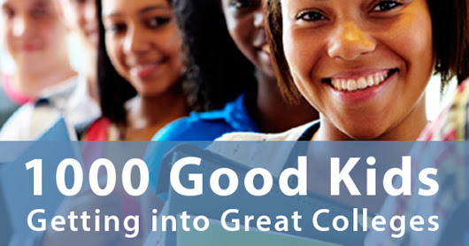 CLICK HERE to support Let's Help 1000 Good Kids Get into Great Colleges