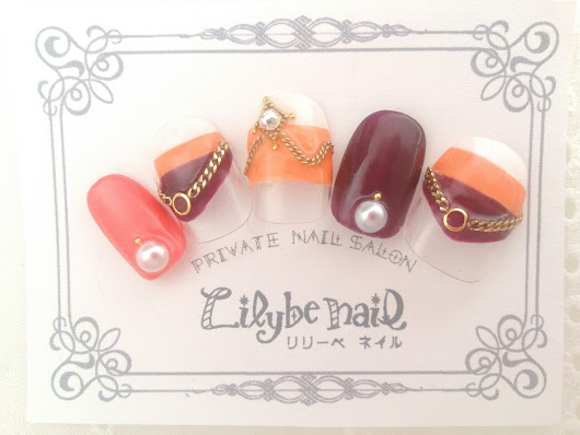 Lilybe nail(リリーベネイル)Art collection — 《Lilybe nail新作ネイルデザイン☆》  ~Autumn collection vol.1~...