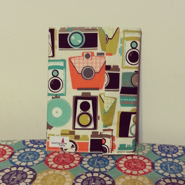 Digging this retro camera journal cover