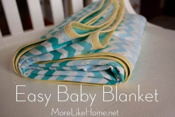http://www.morelikehome.net/2013/10/day-1-easy-baby-blanket.html