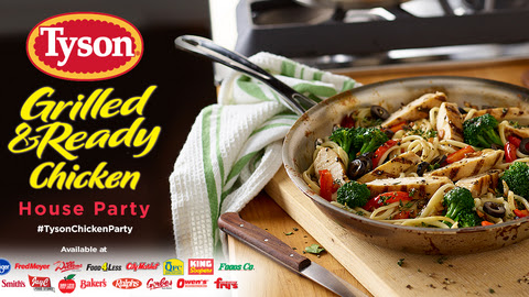 You've got to check out Tyson Chicken's Tyson® Grilled & Ready® Chicken House Party event on Ripple Street!