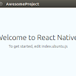 React-Native apps now can be run on Ubuntu