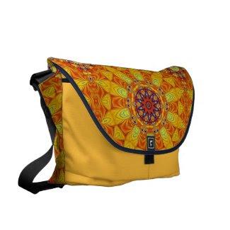 Vibrant Lace Messenger Bags