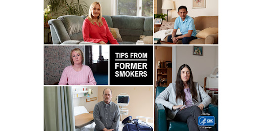 "New ads mark the 5th year of the ""Tips From Former Smokers"" campaign"