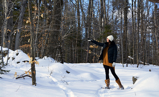 Snowshoeing at Steele Hill Resorts | Steele Hill Resorts