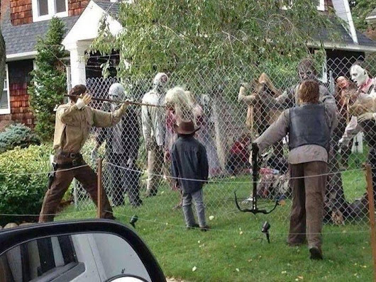 The Walking Dead / Halloween Decoration