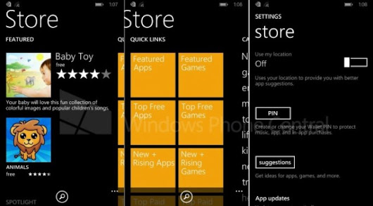New screenshots show off the Store in Windows Phone 8.1