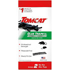 Tomcat 0362810 Glue Traps Rat Size with Eugenol for Enhanced Stickiness, 2-Pack