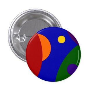 Rainbow Planets Buttons