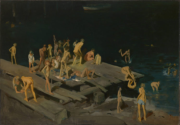 George Bellows: George Bellows, Forty-two Kids, 1907