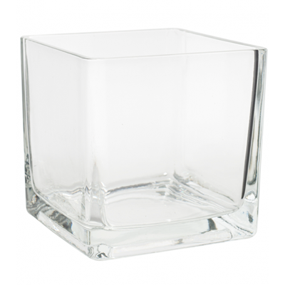 Cube Vase 6x6 Available For Weddings, Events & DIY Brides