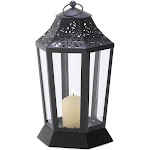 Midnight Garden Candle Lantern by Gallery of Light