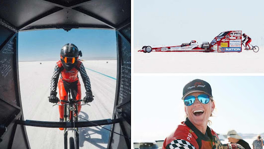 A history of cycling speed records as Denise Mueller-Koronek reaches 183 mph | Guinness World Records