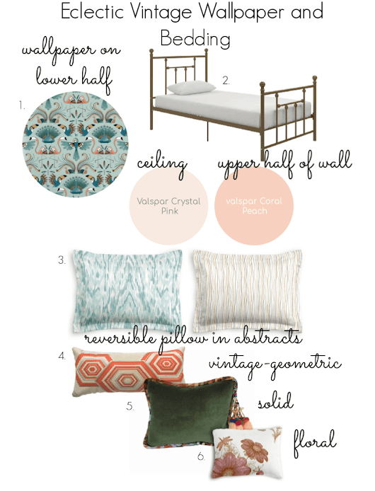 How to Easily Add Boho Vintage Decor to a Bedroom | Up to Date Interiors