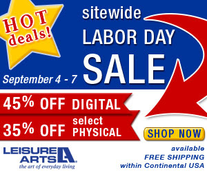 2015 Leisure Arts Labor Day Sitewide