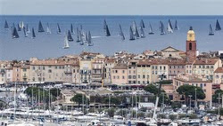 St Tropez, France start for Giraglia Rolex Cup race