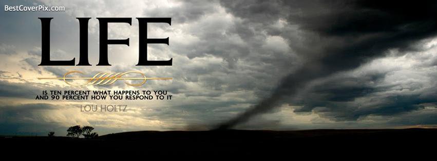 Life Quote Facebook Profile Cover Photo