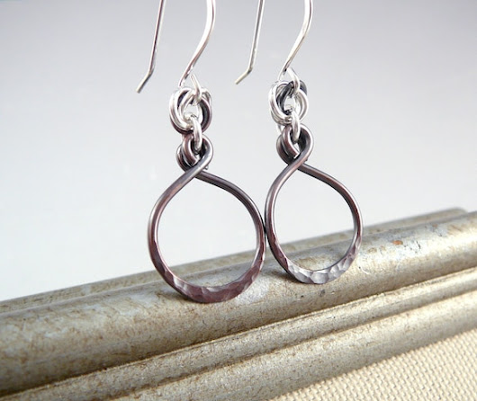 Nickel Free Earrings Hoop Earrings for Women 7th Anniversary