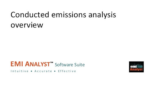 CE Analyst Overview | Conducted Emissions Analysis Overview