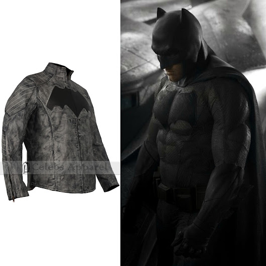 Batman Vs Superman Dawn Of Justice Mens Real Batman Leather Jacket 789058387560 | eBay