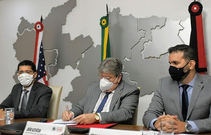 João e embaixador dos EUA estabelecem parcerias em áreas estratégicas