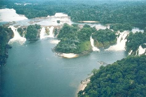 biggest waterfalls chutes de khone infy world