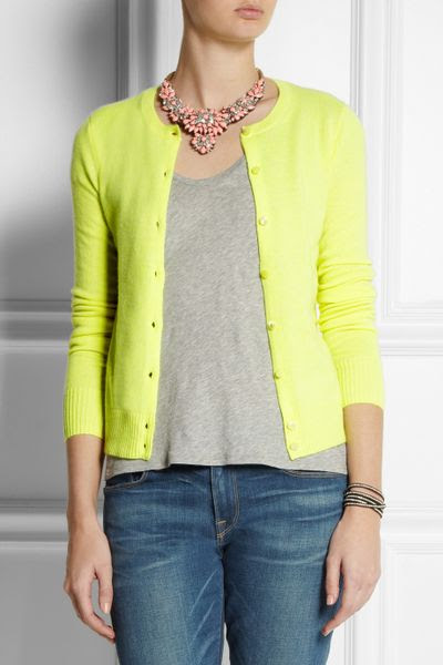 Guest cardigan for yellow cardigan women bright neon yellow zombie