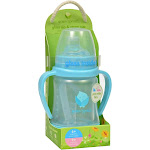 Green Sprouts Aqua Glass Sip N Straw Cup