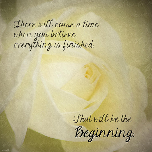 New Beginnings Inspirational by Teresa Wilson