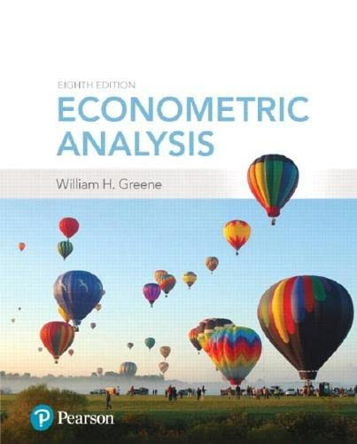 Econometric Analysis (9780134461366)