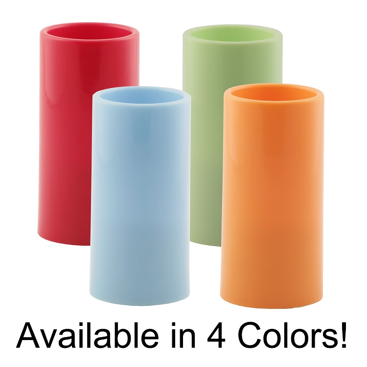Wholesale Pacific Accents Colored Flameless Resin Pillar ...