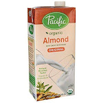 Pacific Foods Organic Low Fat Almond Milk, Original - 32 fl oz carton