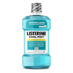 Listerine Antiseptic Mouthwash, Cool Mint, Deeper Clean - 8.5 oz