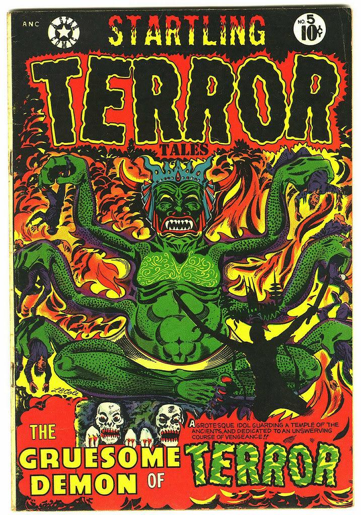 Startling Terror Tales #5 (Star Publications, 1953)