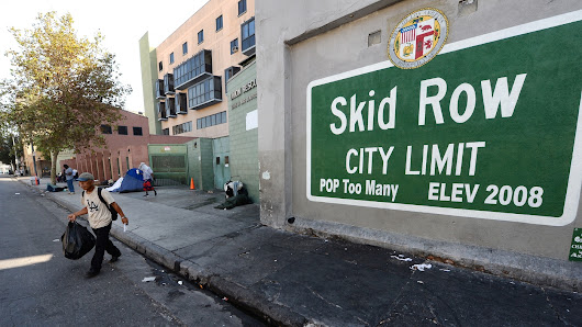 As Downtown LA Grows, So Does Urgency To Fix Skid Row