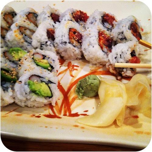 Sushi half date
