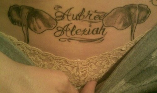 Lower Stomach Tattoos For Girls In 2017 Real Photo Pictures