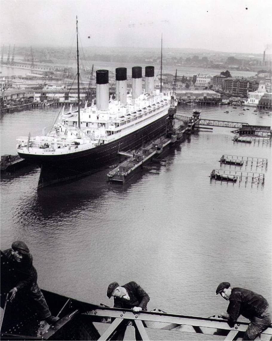 rms olympic & britannic
