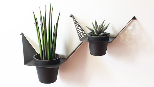 3 different looks with the plant hanger from BY DYB - BY DYB