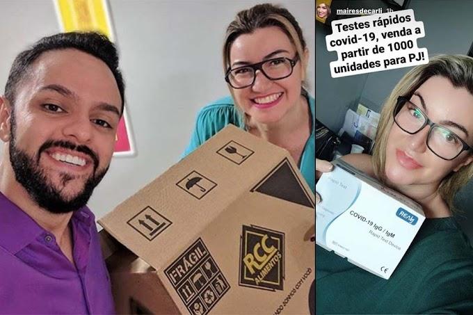 Empresa que vendeu testes de COVID-19 para RO por intermédio de ex-parceira de negócios de Júnior Gonçalves foi alvo da PF: e agora?