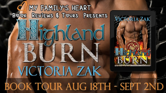 "Review & Giveaway: ""Highland Burn"" by Victoria Zak"