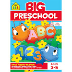 Big Preschool Workbook, Ages 3-5 (School Zone Publishing) (Paperback)