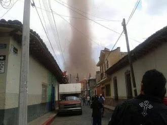 Tornado en México. 22 de Marzo 2014