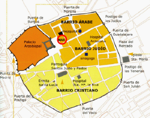 Resultado de imagen de alcalá de henares mapa