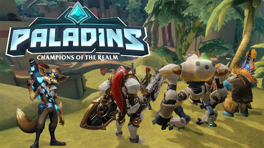 Paladins: Champions of the Realm Gameplay - First WIN !!!  | EchogazeGaming