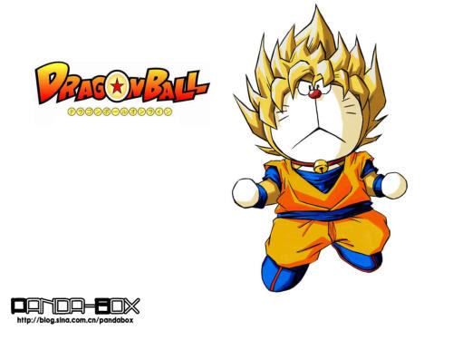 doraemon - dragon ball