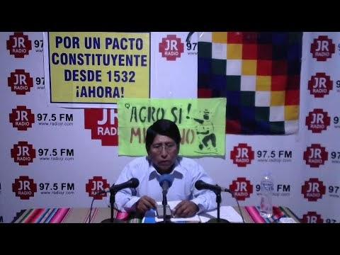 MOQUEGUA RECLAMARIA FONDOS DEL CANON POR AMPLIACIÓN MINERA INVITADO SERA...