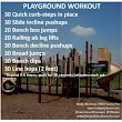 Trainer Tip- Playground Workout - Life Transformations Personal Training