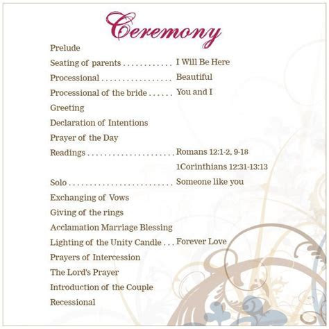 lutheran wedding ceremony outline   Google Search