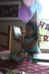 the birthday girl is 4!